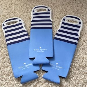 Kate Spade 🥳NEW🥳 set of 3 wine totes